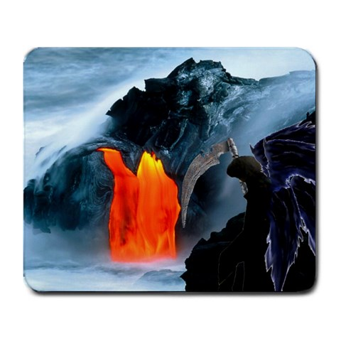 Kohma: Uprising Zephyrus Mousepad By Courage Wolf   Large Mousepad   6taefs0tr3op   Www Artscow Com Front
