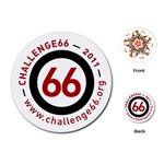 Challenge66 Charity Playing Cards - Playing Cards (Round)