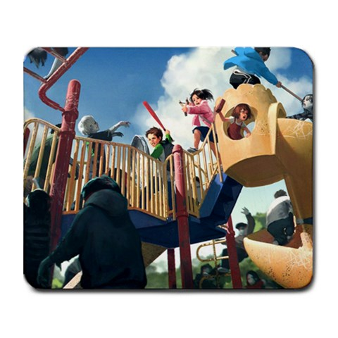 Zombie Kids Yeah By James Thomason   Collage Mousepad   49lmw6c3kc72   Www Artscow Com 9.25 x7.75 Mousepad - 1