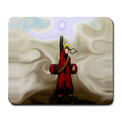 Naruto By Gary Calzada   Large Mousepad   7ift2y8qet56   Www Artscow Com Front