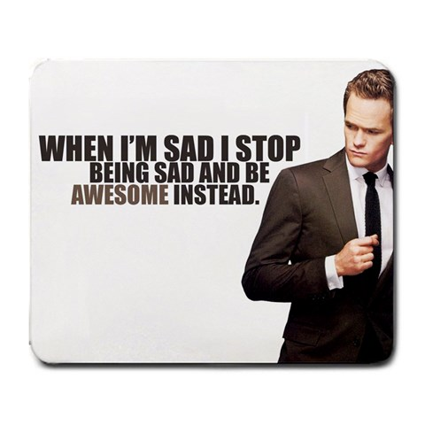 Barny Stinson By Ned House   Large Mousepad   Pxdlnov65j36   Www Artscow Com Front