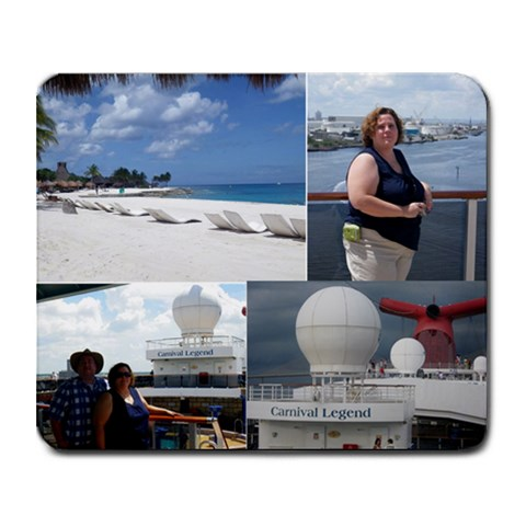 Cruise 2010 By Tim Starley   Collage Mousepad   Pnl0yyuck9ii   Www Artscow Com 9.25 x7.75 Mousepad - 1