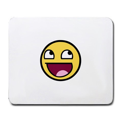 Awesome Face By Carleen Leblanc   Large Mousepad   H3z5y90uqb7l   Www Artscow Com Front
