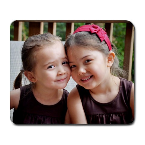 Mousepad Chantal & Sophia June 2010 By Ramona   Large Mousepad   Keze4307rsl9   Www Artscow Com Front