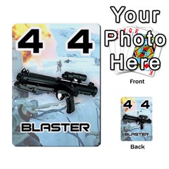 Battle For Hoth By Simon   Multi Purpose Cards (rectangle)   6hj7o6uztcfk   Www Artscow Com Front 16
