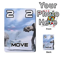 Battle For Hoth By Simon   Multi Purpose Cards (rectangle)   6hj7o6uztcfk   Www Artscow Com Front 21