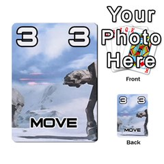 Battle For Hoth By Simon   Multi Purpose Cards (rectangle)   6hj7o6uztcfk   Www Artscow Com Front 23
