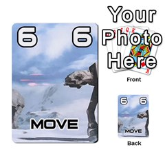 Battle For Hoth By Simon   Multi Purpose Cards (rectangle)   6hj7o6uztcfk   Www Artscow Com Front 4