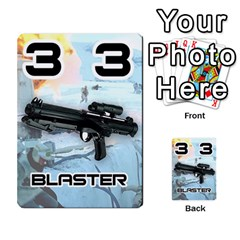 Battle For Hoth By Simon   Multi Purpose Cards (rectangle)   6hj7o6uztcfk   Www Artscow Com Front 32