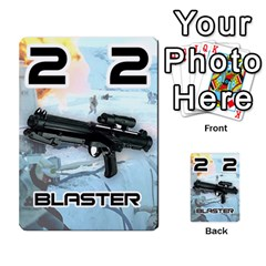 Battle For Hoth By Simon   Multi Purpose Cards (rectangle)   6hj7o6uztcfk   Www Artscow Com Front 34