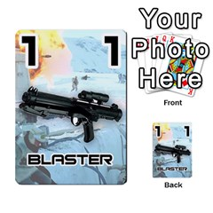Battle For Hoth By Simon   Multi Purpose Cards (rectangle)   6hj7o6uztcfk   Www Artscow Com Front 48