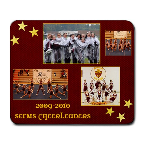 Cheer By Amanda Deaton   Collage Mousepad   Pi0c14uxrcsi   Www Artscow Com 9.25 x7.75  Mousepad - 1