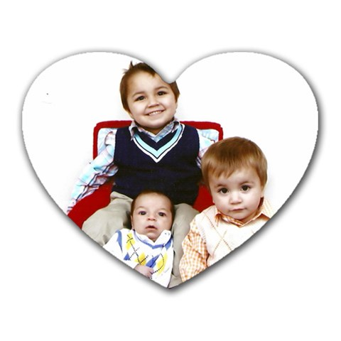 They Own My Heart By Ayla Renee Lawlor   Heart Mousepad   G0xdzu6qvv1h   Www Artscow Com Front