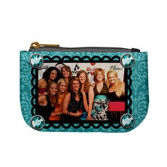 Girls Night Coin Purse By Nicole Mccracken   Mini Coin Purse   Whqobsjp4f6p   Www Artscow Com Front