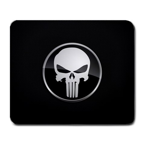 The Punisher By John Juuhl   Large Mousepad   06m0ktb3cmfp   Www Artscow Com Front