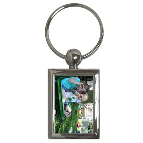 Newt & Charley By Beth Barrett   Key Chain (rectangle)   B6dv7nkoskhh   Www Artscow Com Front