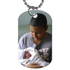 Proud Uncle By Tiffany   Dog Tag (two Sides)   Bnjho2nik2g0   Www Artscow Com Front