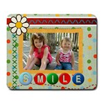 Smile  Mousepad - Large Mousepad