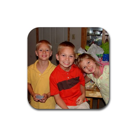 Coaster Joey 10 By Kathleen   Rubber Coaster (square)   Ci3wndda0n9a   Www Artscow Com Front