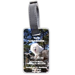 Luggage Tag 1  By Vera Limadinata   Luggage Tag (two Sides)   Qa2n554f6xat   Www Artscow Com Back
