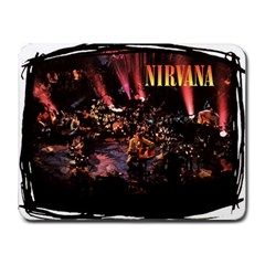 mousepad-nirvana Small Mousepad by YanteesHouse