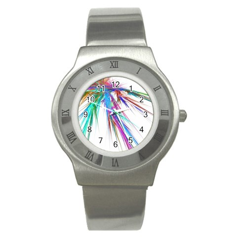 By Artist Cassie   Stainless Steel Watch   33lux0me6zho   Www Artscow Com Front