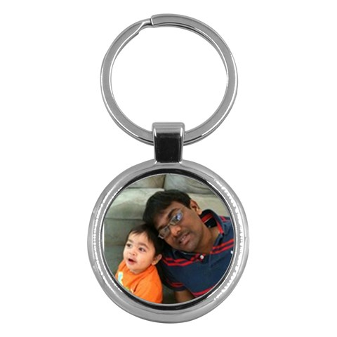 Key Chain For Dad  By Shyam   Key Chain (round)   Mmp51zafs25l   Www Artscow Com Front