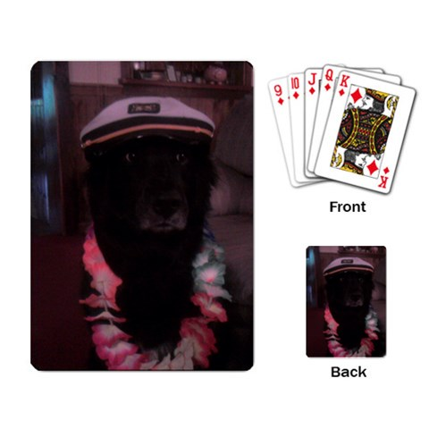 Captain Madison By Jessica   Playing Cards Single Design (rectangle)   Tlzby4lqma5m   Www Artscow Com Back