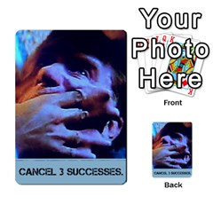 The Thing #1 By Mark Chaplin   Multi Purpose Cards (rectangle)   P2opqjoafwc2   Www Artscow Com Front 17