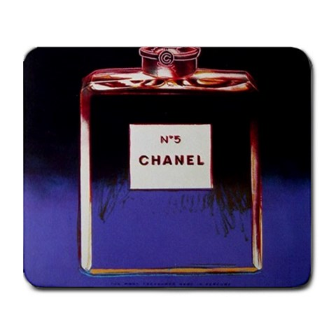 Warhol Chanel By Pamela Lane   Collage Mousepad   Uybl94xakd9f   Www Artscow Com 9.25 x7.75 Mousepad - 1