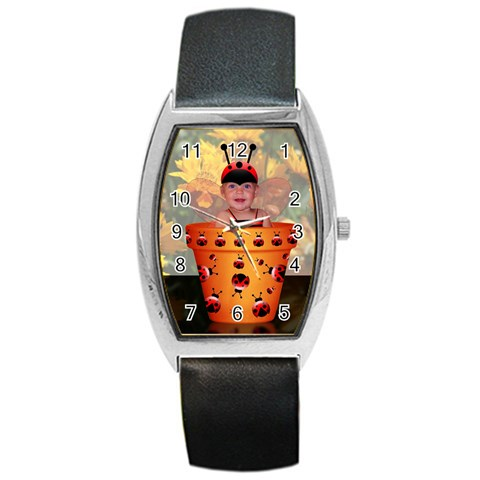 Kadie Bug By Penny   Barrel Style Metal Watch   A6v0jjpwtyoq   Www Artscow Com Front