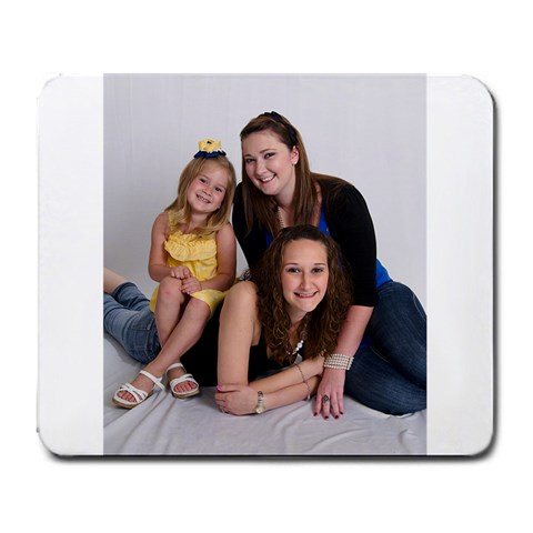 My Girls By Sharold Melton Smith   Large Mousepad   6glmdpx39dew   Www Artscow Com Front