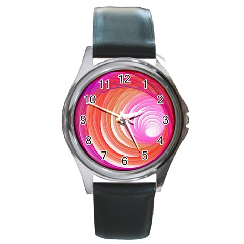 By Artist Cassie   Round Metal Watch   Vknl4i83hdy4   Www Artscow Com Front