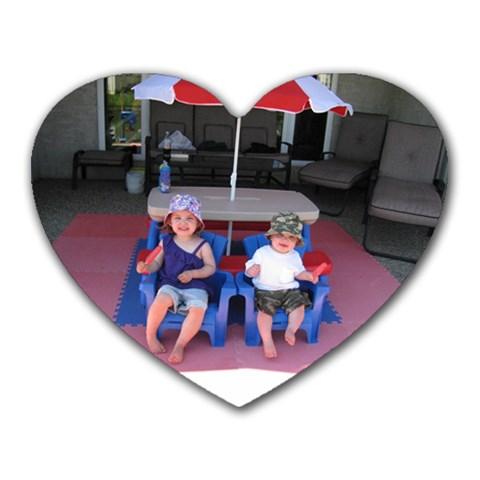 Ava And Alex By Deanna Maisonneuve   Heart Mousepad   Jaw3rw9scm2b   Www Artscow Com Front