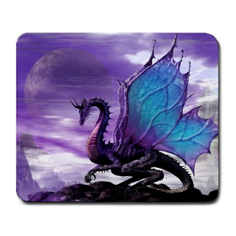 Dragon By Heather Haines   Large Mousepad   Tr3sgmvg818v   Www Artscow Com Front