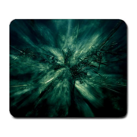 Green By Shahni Bidwell   Large Mousepad   7m2qffovg5s5   Www Artscow Com Front