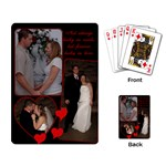 Wedding Playing Cards - Playing Cards Single Design