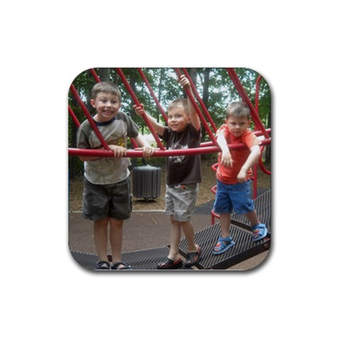 Playground May By Andrea   Rubber Coaster (square)   3ggfss7dotw3   Www Artscow Com Front