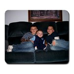 Grandma s  3 Little Men  - Large Mousepad