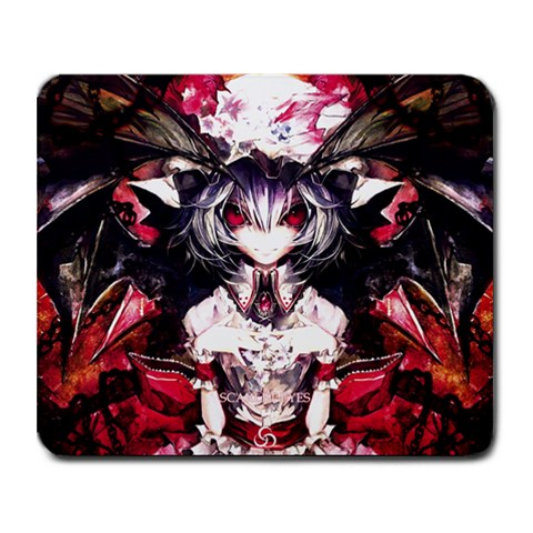 Scarlet Eyes 1 By Diogo Santos   Collage Mousepad   W0mtmmh05ttz   Www Artscow Com 9.25 x7.75 Mousepad - 1