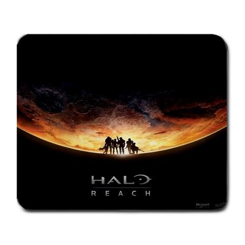 Halo: Reach  :d By Alex Parks   Large Mousepad   Lj2z0clxjxg4   Www Artscow Com Front