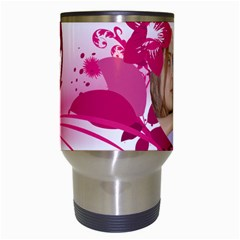 Pink By Wood Johnson   Travel Mug (white)   U860ty1hafgs   Www Artscow Com Center