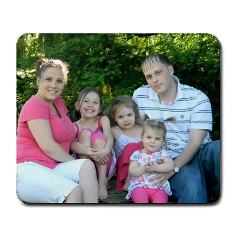 My Family By Stacey Hard   Collage Mousepad   L5x6sltz8ua4   Www Artscow Com 9.25 x7.75 Mousepad - 1