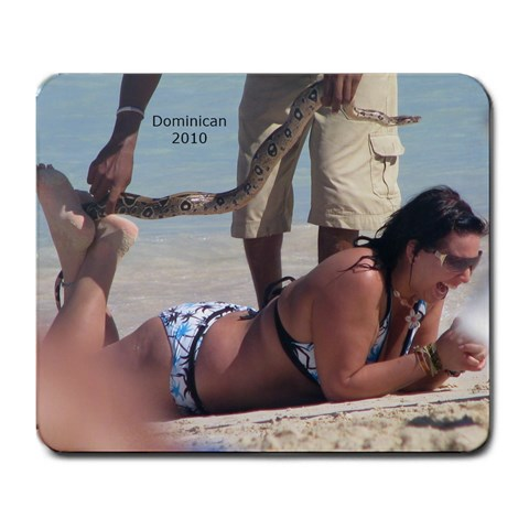 Boo Mousepad By Susan Brown   Large Mousepad   40bf4tn1g8no   Www Artscow Com Front