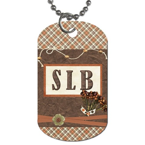 Dog Tag I Made Awhile Ago By Shawna   Dog Tag (one Side)   Eau3wbazul5c   Www Artscow Com Front