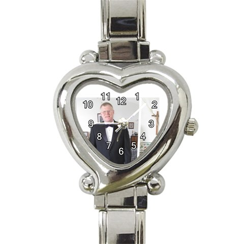 Gregg Heart Watch By Christine   Heart Italian Charm Watch   X7lxiiezcz2e   Www Artscow Com Front