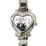 Gregg heart watch - Heart Italian Charm Watch