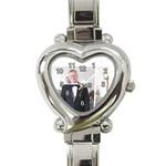 Gregg heart watch - Heart Italian Charm Watch
