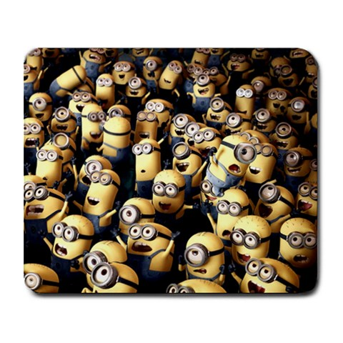 Minions By Jason Liu   Collage Mousepad   81qd4znvb4e2   Www Artscow Com 9.25 x7.75 Mousepad - 1