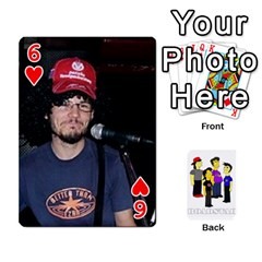 Roadstar Playing Cards By Jay Page   Playing Cards 54 Designs   G41xxcxa6fus   Www Artscow Com Front - Heart6
